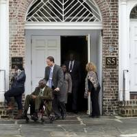 Charleston church massacre next of kin confront Dylann Roof for final time