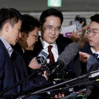 Samsung boss faces arrest as Park corruption scandal grows
