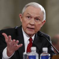 Sessions denies being racist, says he opposes waterboarding, Muslim ban