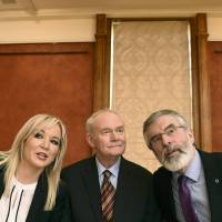Northern Ireland's Sinn Fein party hands reins to new generation