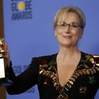 Trump tweets Meryl Streep 'one of the most overrated' after her swipe during Golden Globes