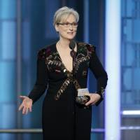 Screen legend Meryl Streep takes on Trump with emotional speech at Golden Globes