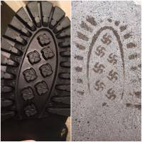 U.S. company recalls boots that leave swastika imprints