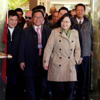 Taiwan leader heads to Americas; U.S. stops set to irk China
