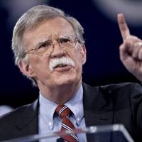 John Bolton, adviser to President-elect Donald Trump and former U.S. ambassador to the United Nations, speaks during the American Conservative Unions Conservative Political Action Conference meeting in National Harbor, Maryland, on Thursday, March 3, 2016.  | BLOOMBERG