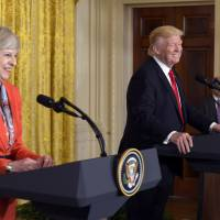 May's mission to woo Trump a success but makes some uneasy