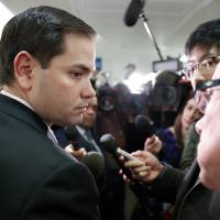 Rubio caves as Senate panel narrowly backs Tillerson as top diplomat