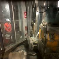100 hurt as packed NYC commuter train crashes at end of last-stop platform