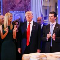 Trump to cede 'complete' control of business to sons