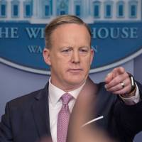 Trump's press secretary promises 'never to lie' after 'alternative facts' briefing