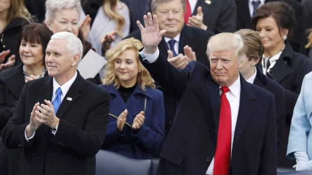 LIVE: The inauguration of the 45th U.S. president