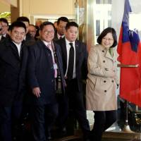 Ted Cruz, Texas governor meet transiting Taiwan president, discuss boost in bilateral relations