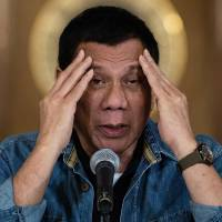 Duterte accuses U.S. of building 'permanent' arsenal depots in Philippines