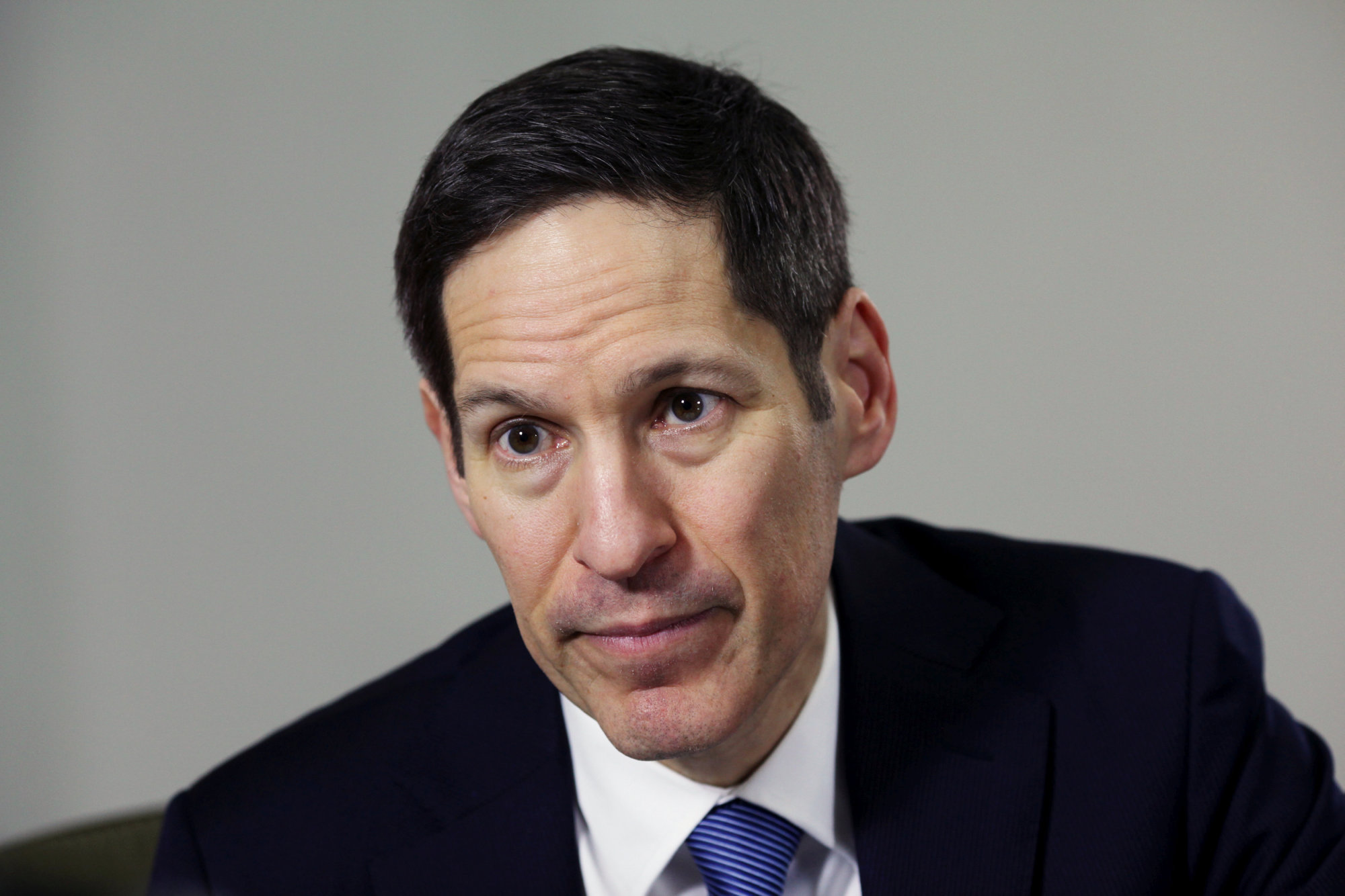 U.S. Centers for Disease Control and Prevention Director Thomas Frieden is interviewed at the Puerto Rico Health Department in San Juan on March 8. | REUTERS