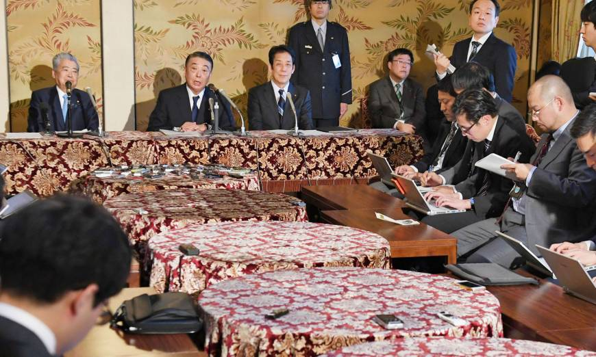 Diet members to begin discussing abdication law for Emperor