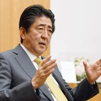 Stronger Japan-U.S. alliance hinges on Trump's 'awareness,' Abe says
