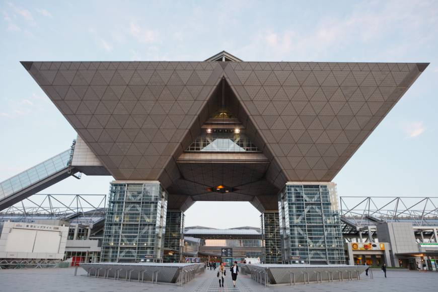 Businesses fear big losses with Tokyo Big Sight shutdown for 2020 Olympics