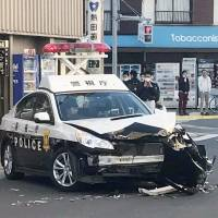 Tokyo police arrest man, 20, in stolen truck after 40-minute chase