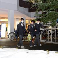 12 disqualified for cheating on Japan's snow-delayed university exams