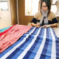 Fukushima entrepreneur revives famed Aoki cotton industry