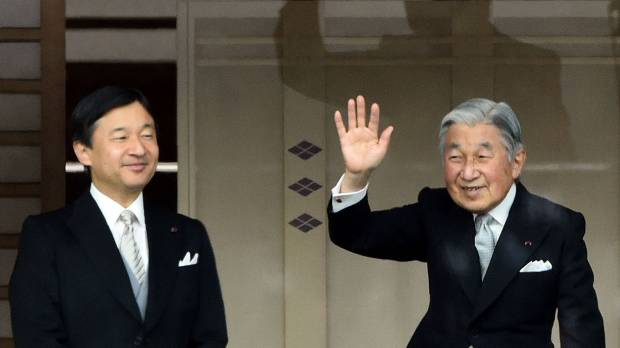 Abdication of Emperor on his birthday in 2018 and same-day succession under discussion: government source