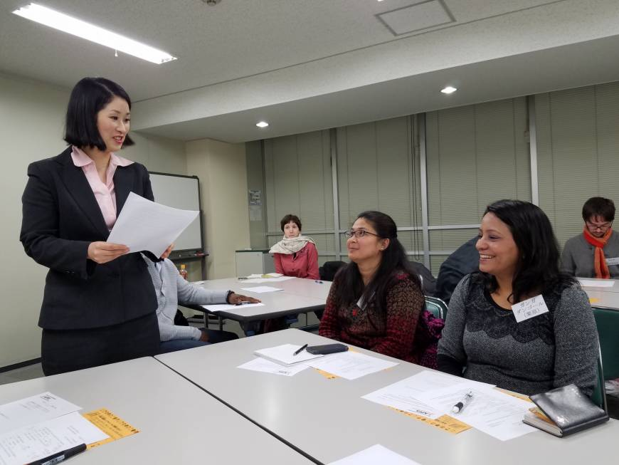 Group drawing on long-term foreign residents to help newcomers navigate life in Japan