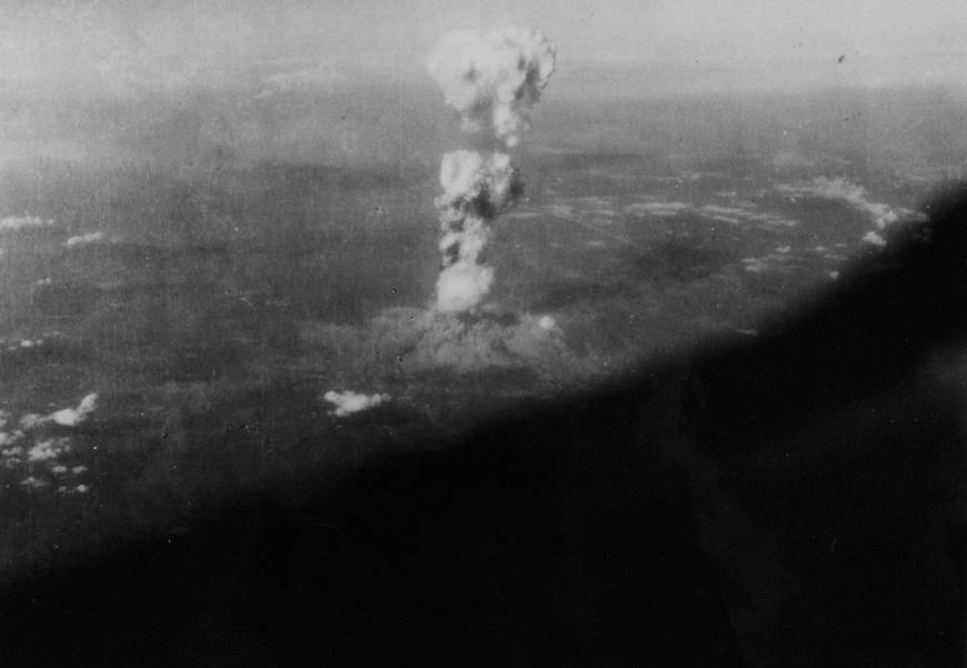 A-bomb museum shows newly discovered photos of 1945 mushroom cloud, A-bomb dome