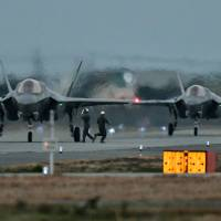 In first overseas deployment, U.S. F-35 fighter jets arrive at Yamaguchi base