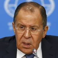 Russian foreign minister claims Obama tried to stop Japan from improving ties with Moscow