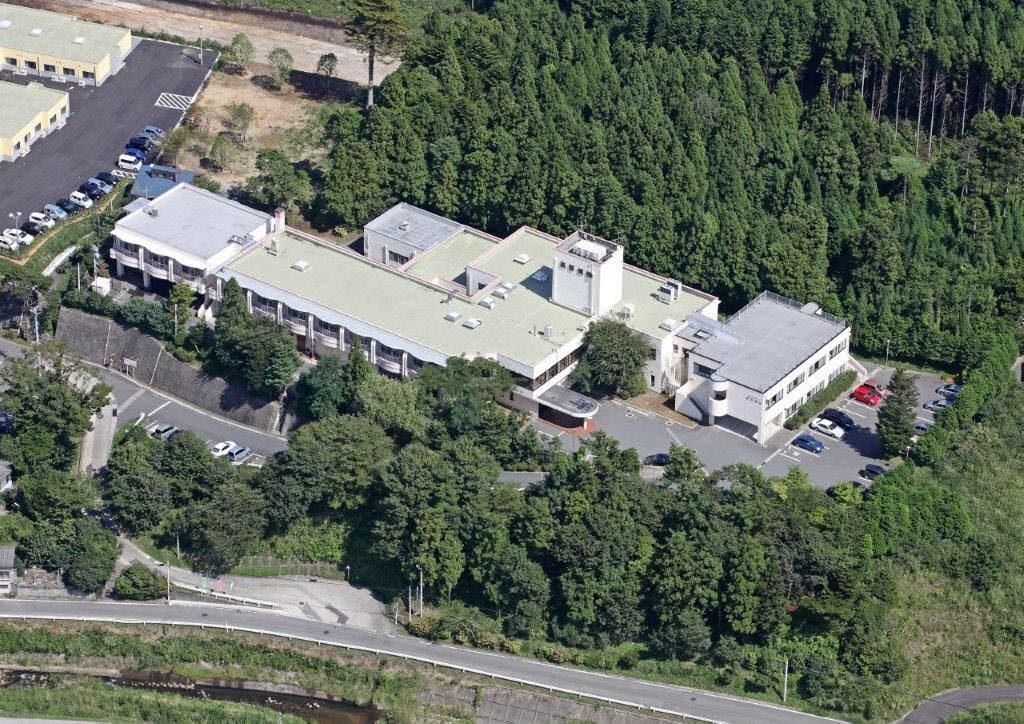 Takano Hospital in Hirono, Fukushima Prefecture, is seen in this photo taken from the facility's Facebook page.