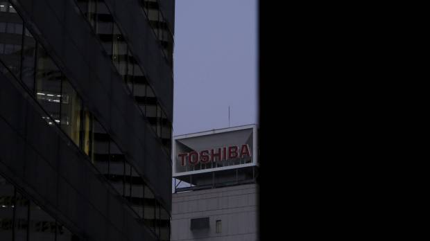 Verging on negative net worth, Toshiba preps stake sales to raise cash