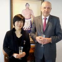 Ukraine bestows honor on Japanese woman who helped sick Chernobyl kids