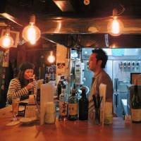 Cozy cave: Situated on the border of Yaesu, iBrew is a warm craft beer bar that comes to life at night. | DAVEY YOUNG