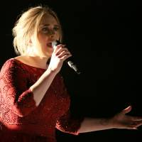 Adele's sales in Japan to date have been relatively low.   MATT SAYLES/INVISION/AP