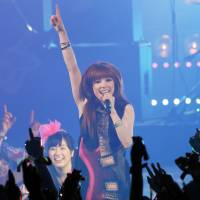Pop appeal: Artists such as Carly Rae Jepsen are very popular in Japan because they work hard to interact with their fans. | AP