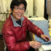 Shin Miyazawa of Denim Repair Owati, explains how a favorite pair of jeans is worth a tricky repair job. | KIT NAGAMURA
