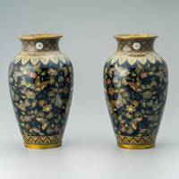 Namikawa Yasuyuki and Japanese Cloisonne: The Allure of Meiji Cloisonne — The Aesthetic of Translucent Black