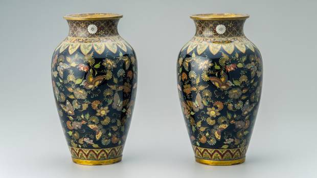 Namikawa Yasuyuki and Japanese Cloisonné: The Allure of Meiji Cloisonne — The Aesthetic of Translucent Black