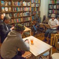 The bookshop is also used as an event space. | STEPHEN MANSFIELD