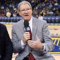 TV analyst Jim Barnett, who played for 11 seasons in the NBA, has called Golden State Warriors games since 1986. | GOLDEN STATE WARRIORS