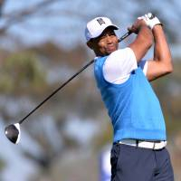 Tiger staggers to a 76 in return after extended layoff