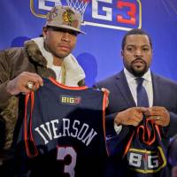 Iverson among former stars to join new 3-on-3 league started by Ice Cube