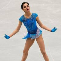 World champion Evgenia Medvedeva, who won her second straight European title last week, has won 16 of the last 18 individual non-exhibition competitions she has entered. | AFP-JIJI