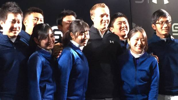 World No. 5 Spieth visits Tokyo to promote new signature golf shoes