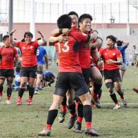 Teikyo wins eighth straight university rugby title