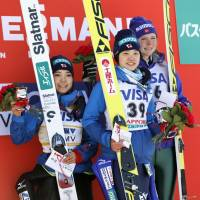 Ito claims first World Cup title; Takanashi finishes second