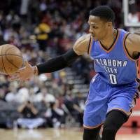 Westbrook's 49 not enough as Thunder fall