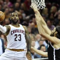 Cavaliers forward LeBron James has made persistent demands to management about the makeup of the team's roster. | KEN BLAZE / USA TODAY / VIA REUTERS