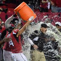 Dominant Falcons claim NFC title
