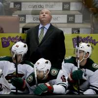 Boudreau wins in return to Anaheim with Wild